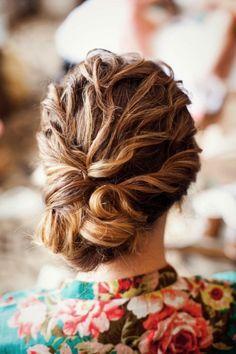 Beautiful bridal updo we ♥ this! davidtuteraformoncheri.com
