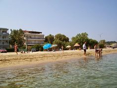 "See 2 photos and 3 tips from 6 visitors to Hostel Tzitzifies. ""Pension-Tzitzifies-Thessaloniki,on the sea,the best and the cheapest place for summer. Greece Hotels, Greece Holiday, Thessaloniki, Greece Travel, Dolores Park, Street View, Real Estate, Urban, Beach"