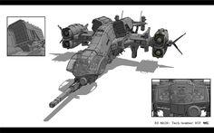 High tech attack aircraft