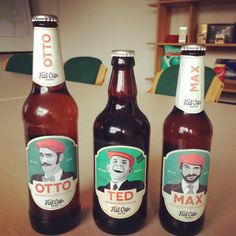 The new look for Flat Cap beers