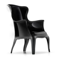 Claudio Dondoli & Marco Pocci: Pasha Chair Black