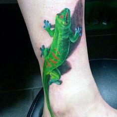 100 Lizard Tattoos For Men - Cool Reptile Designs