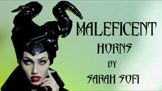 Her newspaper and wire idea will work great for how big I want the horns to be, but I will create a more classic Maleficent look.