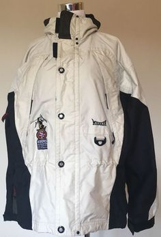 8a5d2774fbca Marker 49ers Ski Classic Winter Ski Snowboard Jacket Mens Beige Black Small