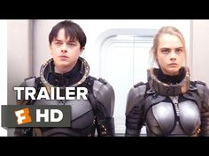 Valerian and the City of a Thousand Planets Official Trailer - Teaser (2017) - Movie - YouTube