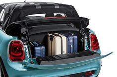 MINI of San Antonio is excited to release the 2016 MINI Convertible and has a few reasons you'll want to be the first on the road in the new MINI. Mini Cabrio, Mini Cooper 2016, Tokyo Motor Show, Color Style, Car Boot, Mini Trucks, Future Car, Mini Me, San Antonio