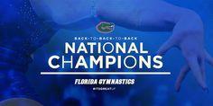 Gator women 3-peat! 2015 Florida Gymnastics - National Champions