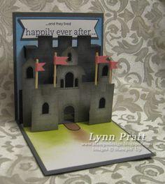 Castle pop-up card inside by lpratt - Cards and Paper Crafts at Splitcoaststampers