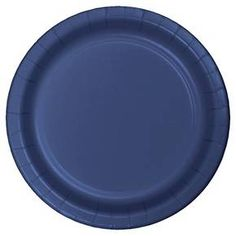 Navy Blue Disposable Plates - 24 Count : Target