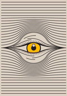 """studio–io: """"Watching with one eye open. Illustration Sketches, Graphic Illustration, Art Sketches, Collage Design, Graphic Design Art, Hippy Art, Tape Wall Art, Creepy Eyes, Small Canvas Art"""