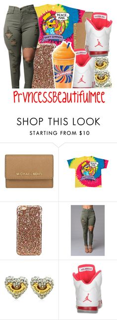 """"""""""" by prvncessbeautifulmee on Polyvore featuring MICHAEL Michael Kors, Juicy Couture, Retrò and Disney"""