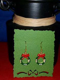 Nillahasse Christmas earring collection. Email nillahasse@gmail.com