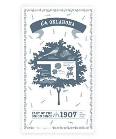 Take a look at this Oklahoma State Kitchen Towel by What to Give: Hostess & Teacher Gifts on @zulily today!