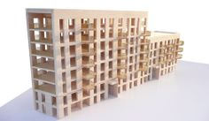Cross-laminated-timber residential high-rise under construction in the heart of London | Stora Enso