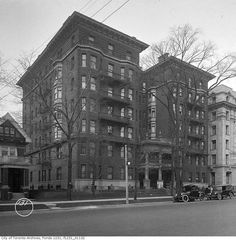 toronto first apartment.  The second Toronto apartment building was completed a year after the St. George Mansions on University Avenue. The stone, brick, and steel Alexandra was a larger building: 72 suites across 7 floors with panoramic views of the city from its penthouse windows. Like the apartment hotels of New York, the property included a communal dining room and appealed to middle-class renters.