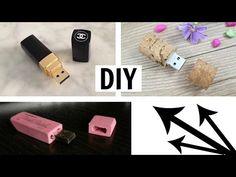 MEDIO✔ Decora tu memoria USB / DIY USB Flash Drive - YouTube