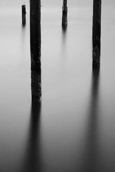 Beautiful Minimalist Photography. 4 shapes.  #photography #black_and_white #minimalist