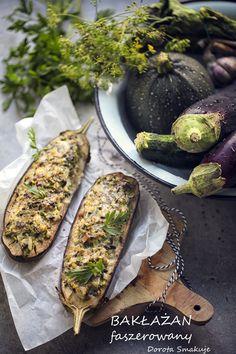 Bakłażan faszerowany – wersja wegetariańska