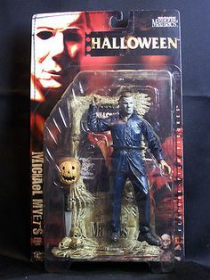 "Halloween Michael Myers 7"" Action Figure Movie Maniacs 2 McFarlane Toys 1999 MIB"