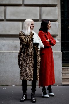 At The Shows, Paris - The Sartorialist