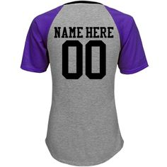 Custom Baseball Mom Jersey | Get loud for your baseball son with a custom jersey shirt! Customize this trendy and cute tee by adding his name and number to the back. Wear this to all the games this season and get loud mom!