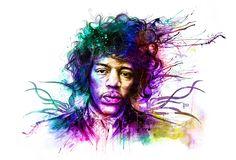 My Jimmy Hendrix portrait