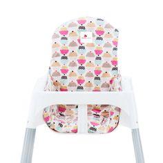 MomsCotton Mama Sandalyesi Minderi Cupcake