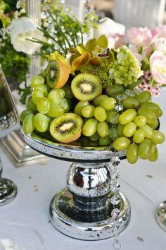 oh!myWedding: Frutas de otoño en los centros de mesa