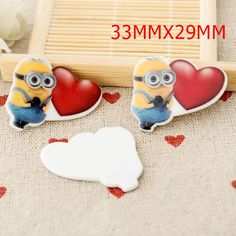Cartoon Flatback Planar Resins for DIY Home & Phone Decorations from Dreamland Fashion Jewelry http://www.aliexpress.com/store/115836