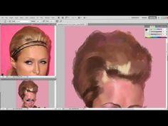 Paris Hilton por Alexander Novoseltev + Video - Caricaturas de Famosos