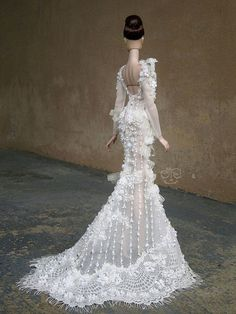barbie wedding dress13