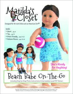 PATTERN: Beach Babe On-The-Go (PDF)   Club Matilda