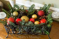 Hometalk :: Christmas Home Tour with tons of DIY/Thrifty Projects! Country Christmas, Christmas Home, Christmas Ideas, Christmas Wreaths, Christmas Crafts, Merry Christmas, Christmas Decorations, Christmas Ornaments, Holiday Decor