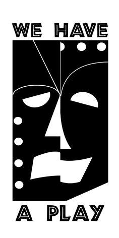 Logo design for theatre company.