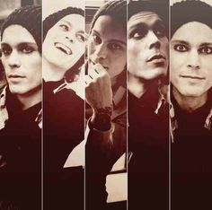 Ville Valo!!! I got a hug and an autograph from this wonderful man yesterday during a signing at his concert!!! Best day ever!!!