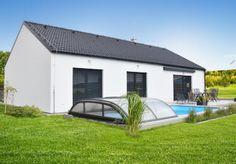 Bungalov Vela 115 Atrium, Outdoor Furniture, Outdoor Decor, Garage Doors, Design, Home Decor, Home, Decoration Home, Room Decor