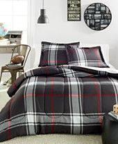 Plaid 3-Pc. Comforter Set