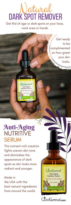 Anti aging herbs are those herbs which are used to slow down the aging process. Aging skin is known as the degenerative natural process which our skin undergoes Black Spots On Face, Brown Spots On Skin, Skin Spots, Dark Spots, Vitis Vinifera, Chemical Peel, Uneven Skin Tone, Anti Aging Serum, Tips Belleza
