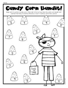 math worksheet : 1000 images about teaching  halloween on pinterest  halloween  : Halloween Math Worksheets For Kindergarten