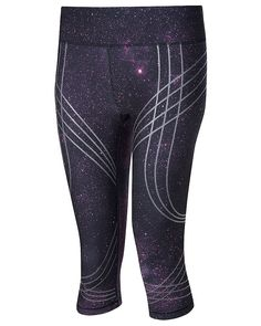 Sweaty Betty Adrenaline Galaxy Run Capris £80. Probably not too flattering on my short not skinny legs but galaxy print is cool and who cares when you are snatching 30 kgs!