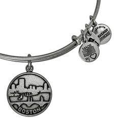 Boston II Expandable Wire Bangle Rafaelian Silver