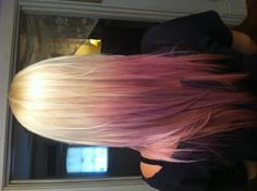 These colors - all blonde on top though, except for maybe one streak