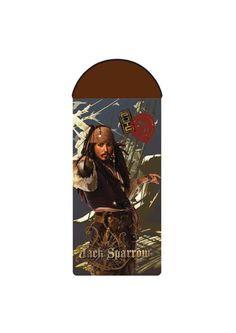 Sleeping bag with Jack Sparrow http://www.faro.com.pl/produkty/koldry_i_spiwory/462