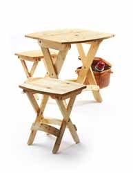 projeto gratuito no blog: Ah! E se falando em madeira...: Mesa e banquetas de fechar