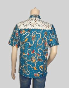 Baju Batik Seragam Pria H-1235-Belakang Blouse, Tops, Women, Fashion, Moda, Fashion Styles, Blouses, Shell Tops, Fashion Illustrations