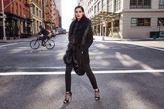 Fur Coat, Winter Jackets, Fashion, Winter Coats, Moda, Fashion Styles, Fashion Illustrations, Fur Coats, Fashion Models