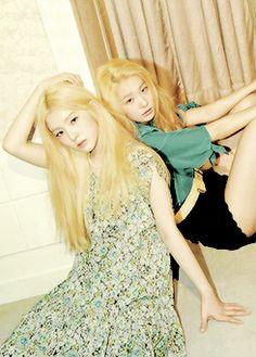 Red Velvet for Nylon May issue.  Scan by goldenseulumber (Tumblr)