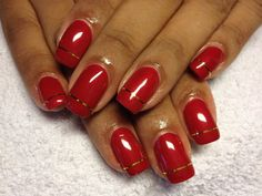 Stunning Red Nail Art Ideas You Will Love