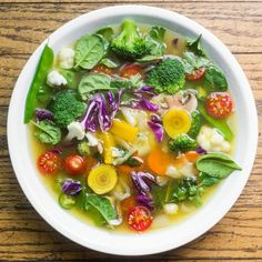 Slimming #Detox #Soup #Recipe. A healthy and delicious food for family...