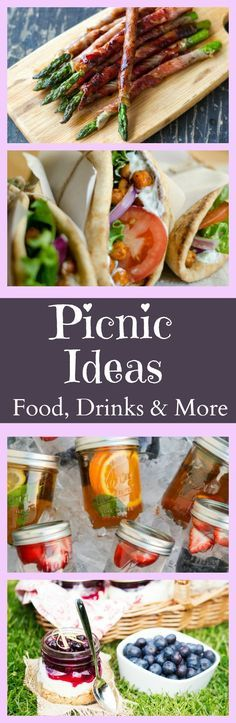 Plan a Perfect Picnic Every time! Recipes, Drinks, and FREE PRINTABLE- Find your free printable here:  www.theoliveblogger.com/the-perfect-picnic-food-drinks-more/